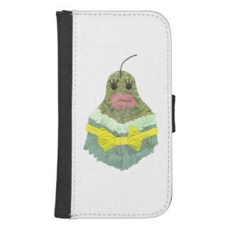 Capa Carteira Caixa da carteira da senhora Pera Samsung Galáxia
