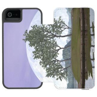 Capa Carteira Incipio Watson™ Para iPhone 5 Árvore com folhas lisa dos bonsais do olmo - 3D