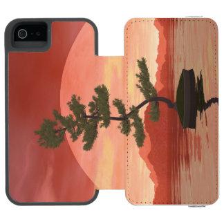 Capa Carteira Incipio Watson™ Para iPhone 5 Árvore dos bonsais do pinho escocês - 3D rendem