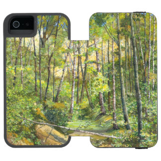 Capa Carteira Incipio Watson™ Para iPhone 5 bosque