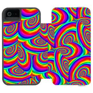 Capa Carteira Incipio Watson™ Para iPhone 5 Caixa cúbica da carteira do telefone do Fractal do