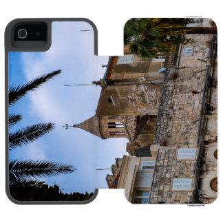 Capa Carteira Incipio Watson™ Para iPhone 5 Cidade velha, separação, Croatia