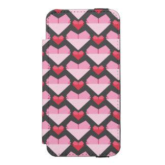 Capa Carteira Incipio Watson™ Para iPhone 5 Coração