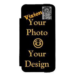 Capa Carteira Incipio Watson™ Para iPhone 5 Criar seu próprio design da visão