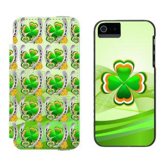 Capa Carteira Incipio Watson™ Para iPhone 5 Ferradura afortunada