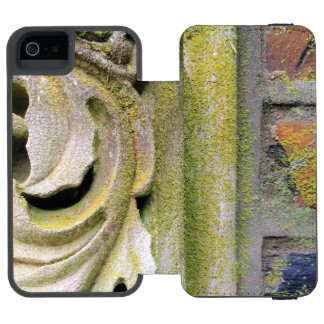 Capa Carteira Incipio Watson™ Para iPhone 5 Folhas Mossy da pedra
