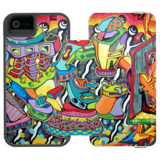 Capa Carteira Incipio Watson™ Para iPhone 5 Grafites - capas de iphone