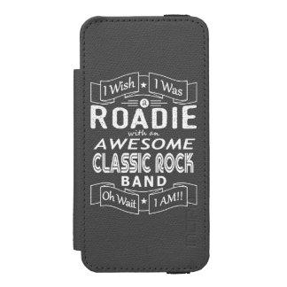 Capa Carteira Incipio Watson™ Para iPhone 5 Grupo de rock clássico impressionante de ROADIE