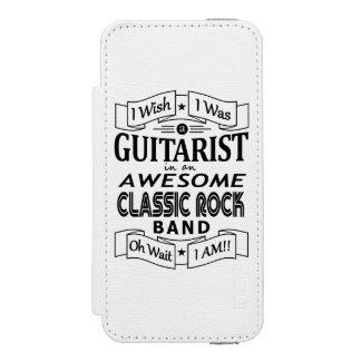 Capa Carteira Incipio Watson™ Para iPhone 5 Grupo de rock clássico impressionante do
