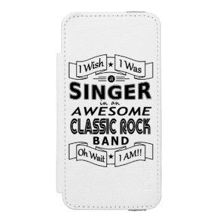 Capa Carteira Incipio Watson™ Para iPhone 5 Grupo de rock clássico impressionante do CANTOR
