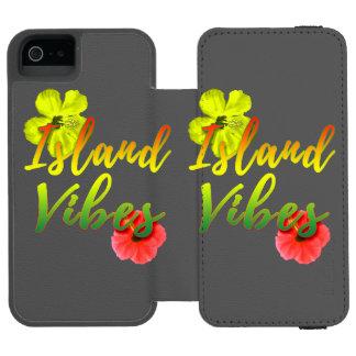 Capa Carteira Incipio Watson™ Para iPhone 5 Impressões da ilha