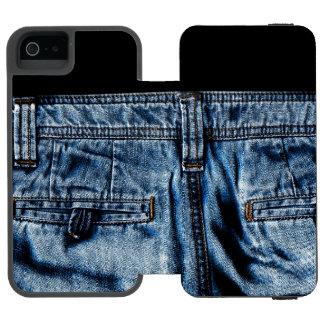 Capa Carteira Incipio Watson™ Para iPhone 5 Jeans - ESFRIE ASSIM