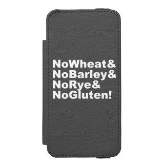 Capa Carteira Incipio Watson™ Para iPhone 5 NoWheat&NoBarley&NoRye&NoGluten! (branco)