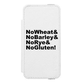 Capa Carteira Incipio Watson™ Para iPhone 5 NoWheat&NoBarley&NoRye&NoGluten! (preto)