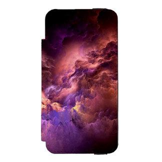 Capa Carteira Incipio Watson™ Para iPhone 5 Nuvens roxas irreais