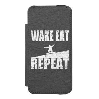 Capa Carteira Incipio Watson™ Para iPhone 5 O acordar come a repetição #2 do Snowboard