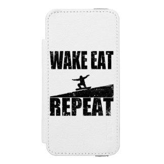 Capa Carteira Incipio Watson™ Para iPhone 5 O acordar come a repetição #2 do Snowboard (o