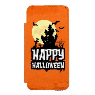 Capa Carteira Incipio Watson™ Para iPhone 5 O Dia das Bruxas feliz