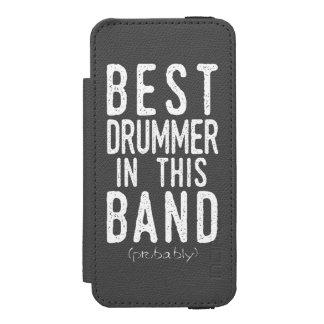 Capa Carteira Incipio Watson™ Para iPhone 5 O melhor baterista (provavelmente) (branco)