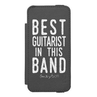 Capa Carteira Incipio Watson™ Para iPhone 5 O melhor guitarrista (talvez) (branco)