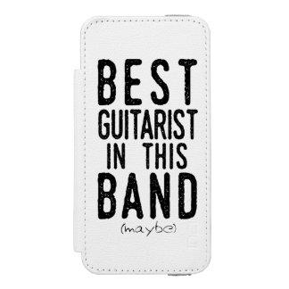 Capa Carteira Incipio Watson™ Para iPhone 5 O melhor guitarrista (talvez) (preto)