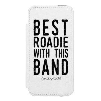 Capa Carteira Incipio Watson™ Para iPhone 5 O melhor Roadie (talvez) (preto)