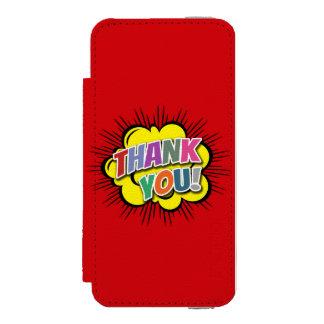 Capa Carteira Incipio Watson™ Para iPhone 5 Obrigado