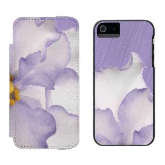 Capa Carteira Incipio Watson™ Para iPhone 5 Orquídea bonita da lavanda