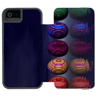 Capa Carteira Incipio Watson™ Para iPhone 5 Ovos coloridos para a páscoa - 3D rendem