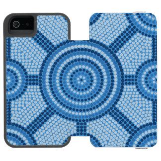 Capa Carteira Incipio Watson™ Para iPhone 5 Pintura aborígene do ponto