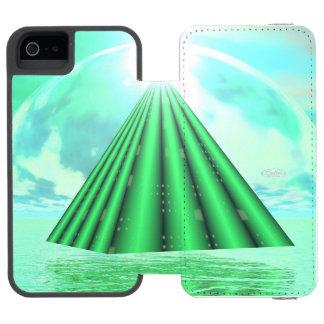Capa Carteira Incipio Watson™ Para iPhone 5 Pirâmide Mystical - 3D rendem