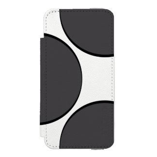 Capa Carteira Incipio Watson™ Para iPhone 5 Ponto DarkGrey