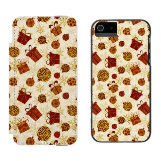 Capa Carteira Incipio Watson™ Para iPhone 5 Presentes de época natalícia & enfeites de natal