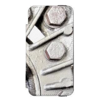 Capa Carteira Incipio Watson™ Para iPhone 5 Rebites de prata do metal