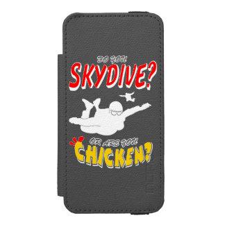 Capa Carteira Incipio Watson™ Para iPhone 5 Skydive ou galinha? (branco)