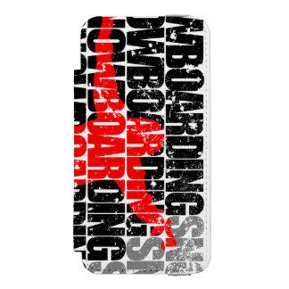Capa Carteira Incipio Watson™ Para iPhone 5 Snowboarding #1 (preto)