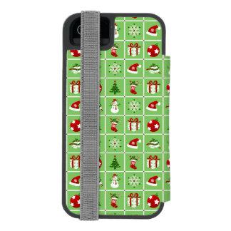 Capa Carteira Incipio Watson™ Para iPhone 5 Teste padrão do ano novo. Imagens da cor. 2018.