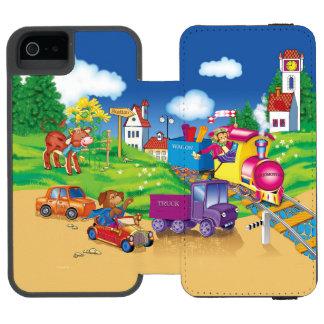 Capa Carteira Incipio Watson™ Para iPhone 5 trem e carro
