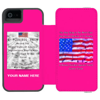 Capa Carteira Incipio Watson™ Para iPhone 5 Uma nação dividida