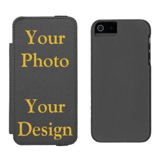 Capa Carteira Incipio Watson™ Para iPhone 5 Visão seu design