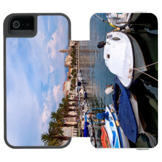 Capa Carteira Incipio Watson™ Para iPhone 5 Waterfron de Riva, separação, Croatia