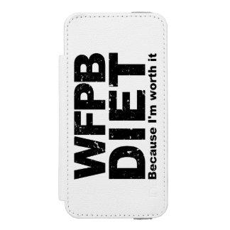 Capa Carteira Incipio Watson™ Para iPhone 5 WFPB que eu valer a pena (o preto)