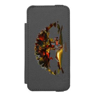 Capa Carteira Incipio Watson™ Para iPhone 5 Yggdrasil - a árvore de vida