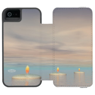 Capa Carteira Incipio Watson™ Para iPhone 5 z+Etapas da vela - 3D rendem