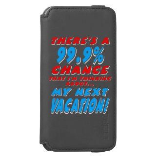 Capa Carteira Incipio Watson™ Para iPhone 6 99,9% As PRÓXIMAS FÉRIAS (brancas)