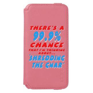 Capa Carteira Incipio Watson™ Para iPhone 6 99,9% SHREDDING O GNAR (branco)