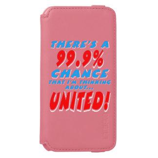 Capa Carteira Incipio Watson™ Para iPhone 6 99,9% UNIDO (branco)