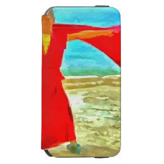 Capa Carteira Incipio Watson™ Para iPhone 6 A monge super do ajustado no vermelho