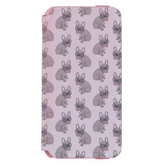 Capa Carteira Incipio Watson™ Para iPhone 6 Abrace-me, necessidades bonitos de Frenchie do