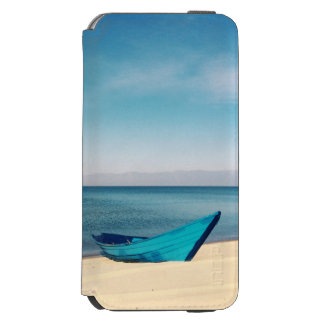 Capa Carteira Incipio Watson™ Para iPhone 6 Água bonita de turquesa da praia
